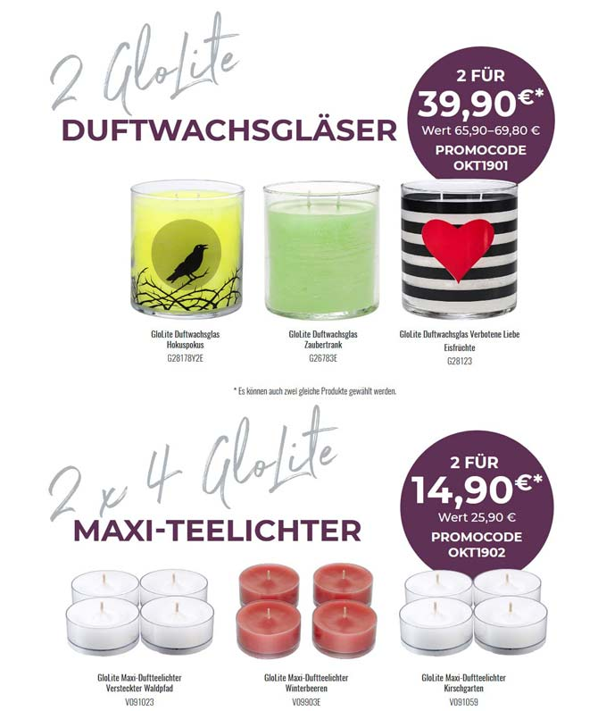 PartyLite April 2018